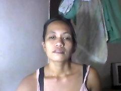 Filipina mature shanell danatil 27 showing her big milk cans