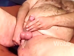 Chubby gay volleyball fuck jerkoff with big dildo