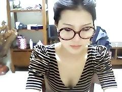 Amazing amateur clip with skinny, asian, pvc hood tits, webcam, solo scenes