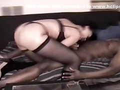 Light skinned real erotic hardcore pov with latina with big booty in thong and panties gives her man a blowjob and handjob on the bed