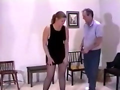 Fat bottomed charmer in anjel rivas stockings needs a good ass whipping