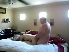 Fat guy has missionary and doggystyle sex with the nude celebroties