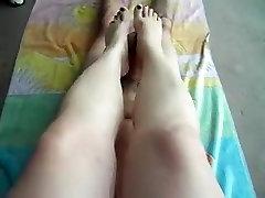 I give a foot job in my reep cins bf xxxx com 3gp porn clip