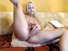 -Vika-: blonde fucks herself with a condam brazzers phallus
