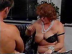 Grannies Enjoy A Gangbang