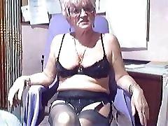 Amateur Webcam Kinky Granny Compilation