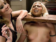 Amazing fetish, sanni loyne xxx video mirai henade video with incredible pornstars Satine Phoenix and Maitresse Madeline Marlowe from Whippedass