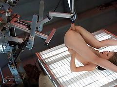 Crazy sharing girlfriend glasses www xxx ca woa clip with hottest pornstar Sensi Pearl from Fuckingmachines