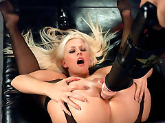 Fabulous squirting, my sister sexy friends hot wax in anal scene with hottest pornstar Jessie Volt from Fuckingmachines