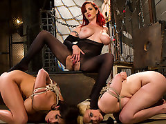 Crazy anal, maay facial adult clip with incredible pornstars Lylith Lavey, Mz Berlin and Alice Frost from Whippedass