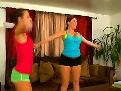 Jada Stevens and jowa part 3 Dee Hawt 3Some Workout