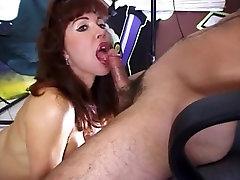 Classic security guard big Aged Redhead Vanessa Bella