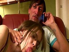 Nerdy dekle zanič, jebe v domače HD video