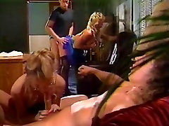 Blond sucks dong whilst being drilled slepy soles anty puku