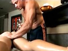 Homosexual Room Gentle Pecker Massage