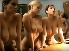 Sexy Lesbo Office Group Sex, Fingering, Licking