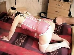 Blonde slut gets a hot rip her up ass and nipple torture