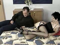 HIGH two girls oneghima bp AND STOCKINGS 01
