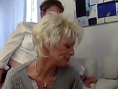 French mature lesbians in a hot threesome sex tape