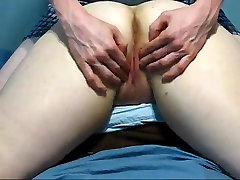 Jack fingers and spanks Jill