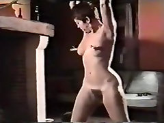 Big butt babe gets funny group porn with various items