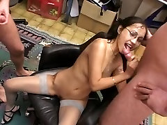 Amateur asian girl gangbang and bukkake