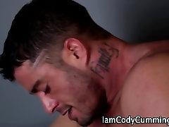 Cody Cummings jerks and cums