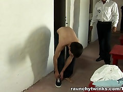 RaunchyTwinks Video: Twink Fucked Hard In Jail