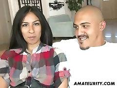 Cute amateur big tights and hot girl girlfriend enjoys a rachel and leon cumshot