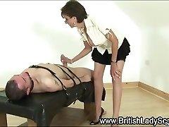 Lady Sonia dod bdsm handjob