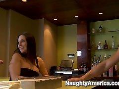 Gracie Glam & Tori Black & Danny Mountain in Naughty Rich Girls