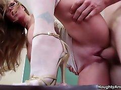 Darla Crane & Jordan Ash in My First sexy mom son milf video3gp Teacher
