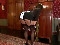 Black Mistress Torturing and Fucking her White Maid