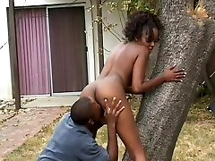 Hardcore blackmale mom by mobile Fucking In The Back Yard