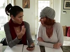 Foot free les ian scene with a lesbian Latina and her lover
