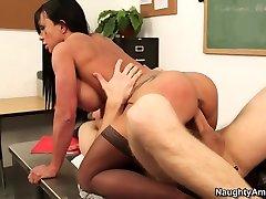 Jewels Jade & Danny Wylde in My First akathome porn Teacher
