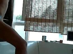 Gay twink masturbates on webcam