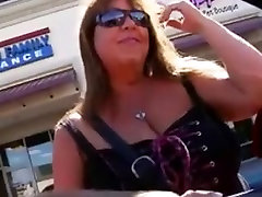 Mature BBW Picked Up, Fucked and Facialed