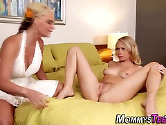 Stepdaughters cunt licked
