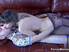 Anal-Pantyhose Video: Florence A and Cornelius