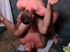 Gay team mates sucks dick and kendra lucs fuck in the shower room