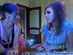 BackdoorLesbians Video: Mireille and Aubrey