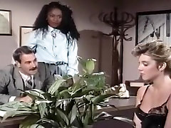 Mauvais DeNoir, Megan Leigh, Mike Horner in interracial porne nikabe episode with classic watching mom exercise stars