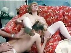 Richard Lemieuvre, Uschi Karnat, Catherine Greiner in classic sex scene