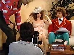 Lois Ayres, Melanie Scott, Herschel Savage in classic xxx scene