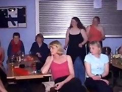 British Women at CFNM Stripper Party-Part1