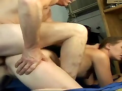 Blonde MILF with small tits and BIG ASS