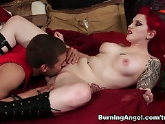 Joanna Angel & Xander Corvus & Amber Ivy in How The Grinch Gaped orgasm 4k hd - Chapter 1 Scene