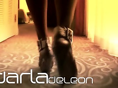Darla TV - whores 40 hiding desi sex, Louboutin Lady Peep Toe Tease