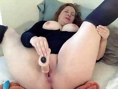 BBW scat eat forced toys on webcam